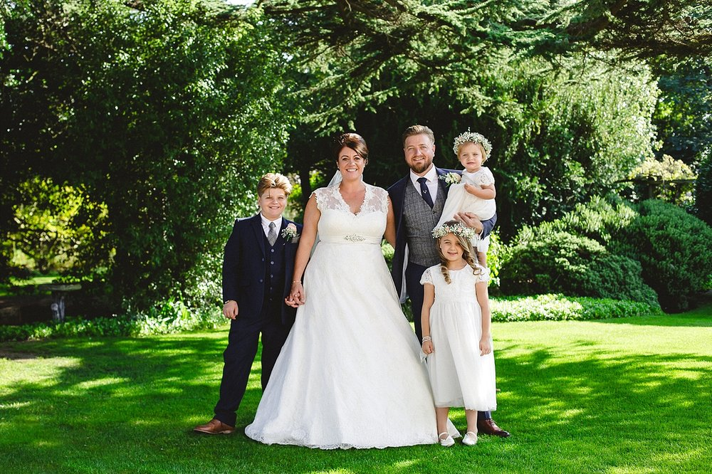 Moor Hall Wedding - Family Group Shot - Anesta Broad Photography