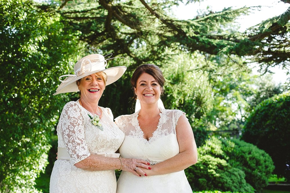 Moor Hall Wedding Photographer - Bride and Mother of the Bride