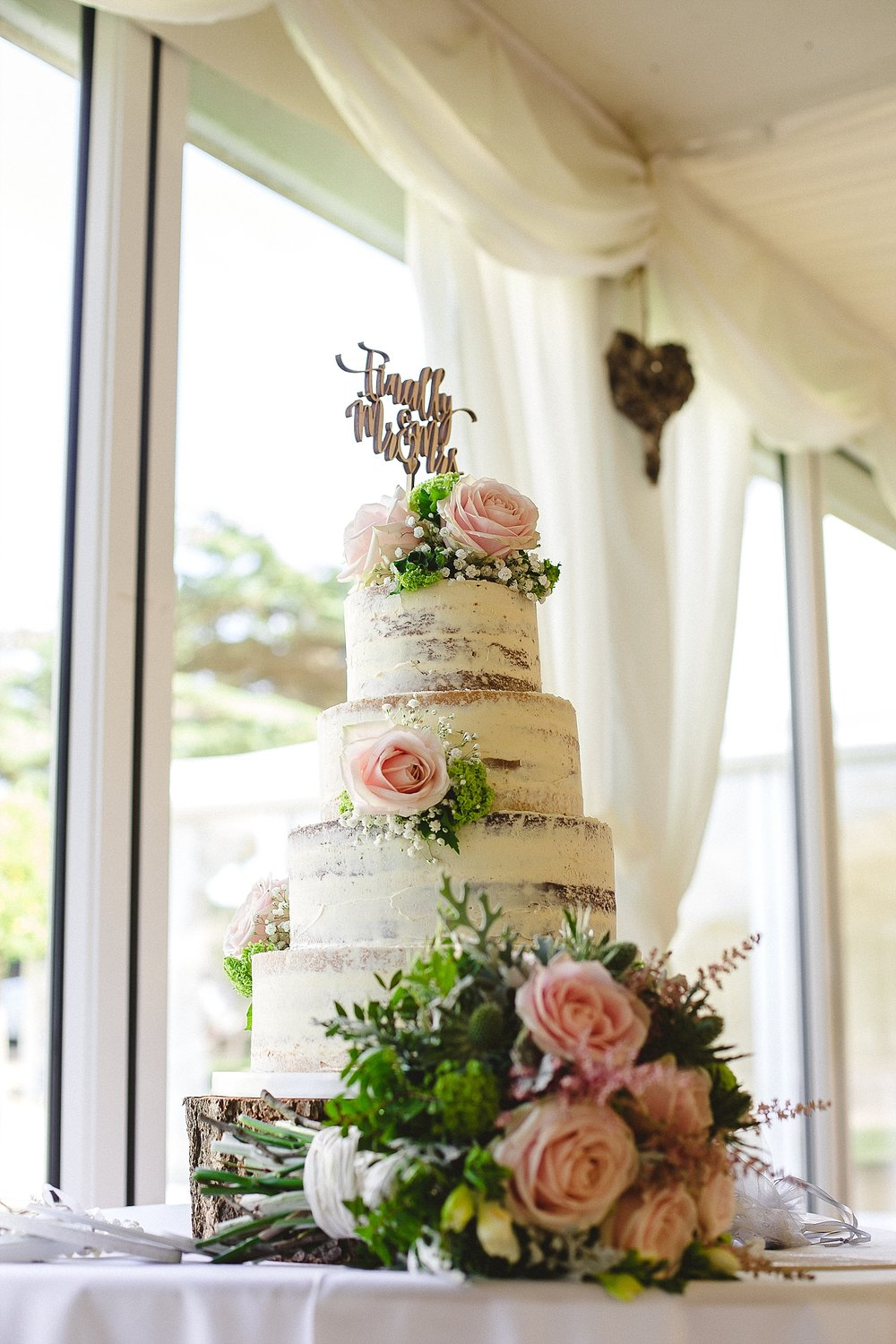 Moor Hall Wedding Photographer - Wedding Cake