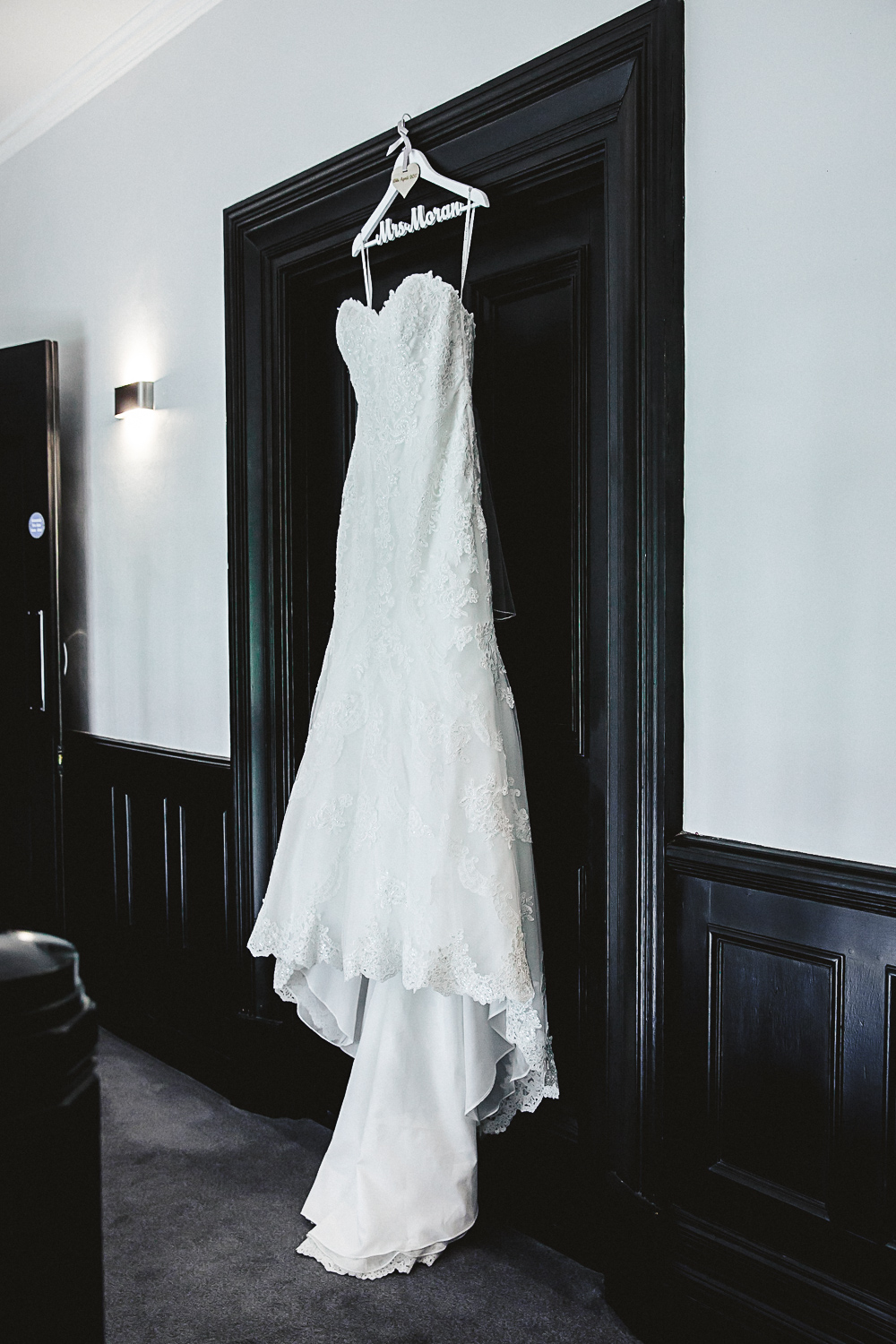Bridal Dress at Swynford Manor Wedding