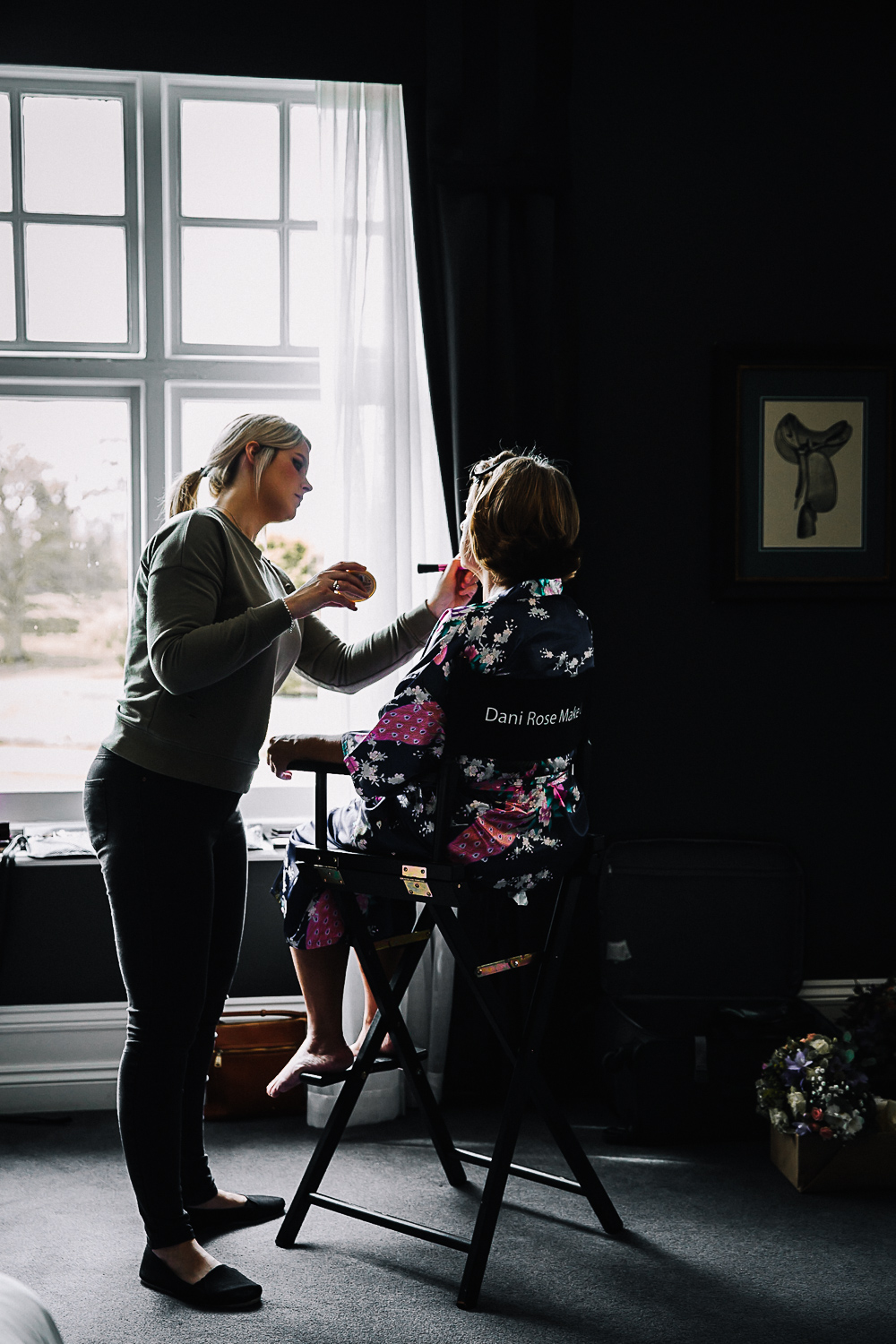 Mother of the Bride getting ready - Swynford Manor Wedding Photographer