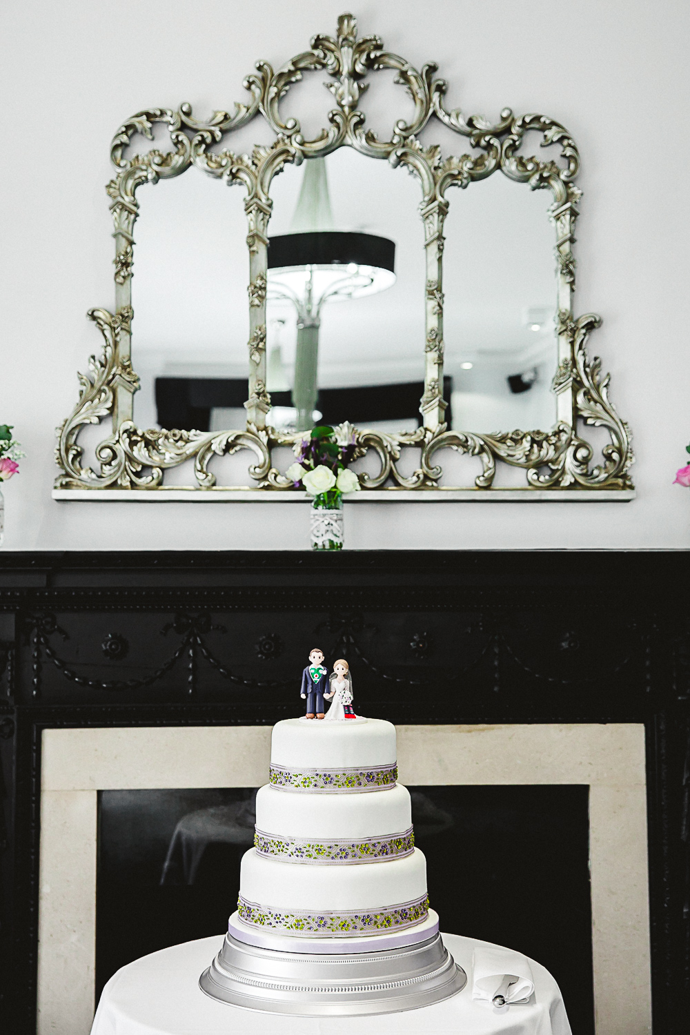 Wedding Cake Topper - Swynford Manor Wedding Photographer