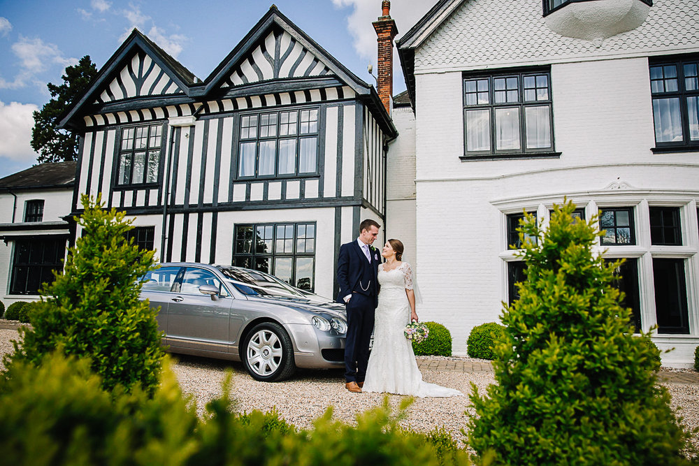 Couples Portrait - Swynford Manor Wedding Photographer