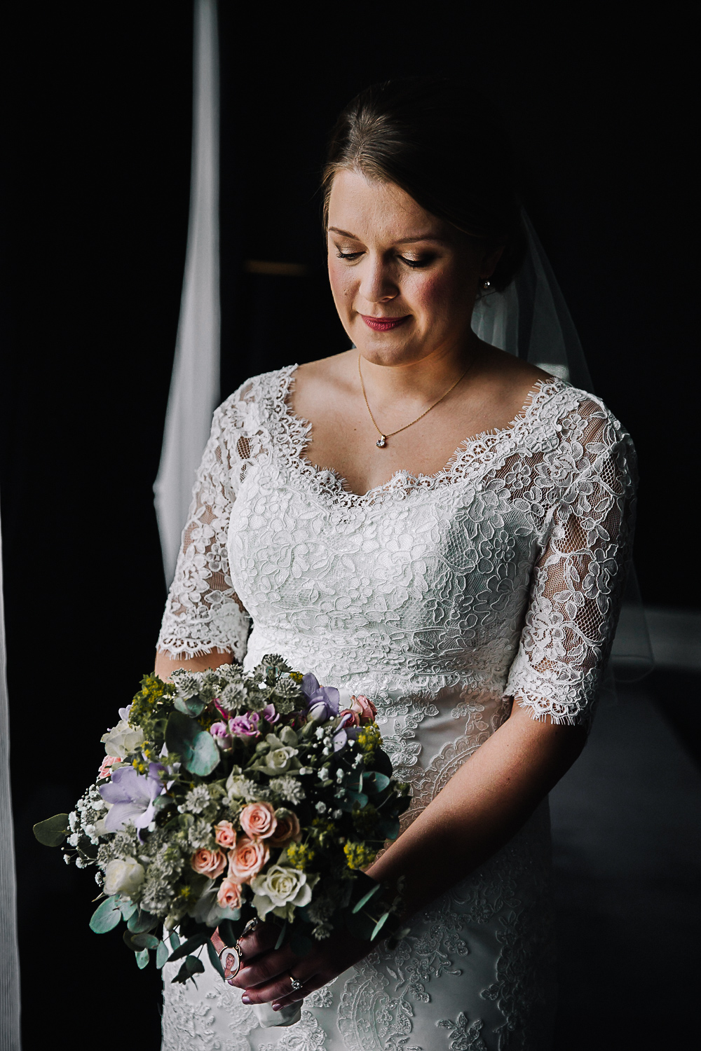 Bridal Portrait - Swynford Manor Wedding Photographer