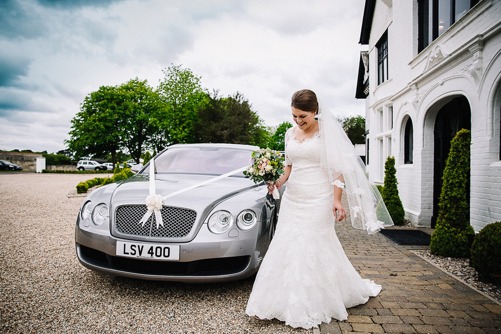 Bride - Swynford Manor Wedding Photographer