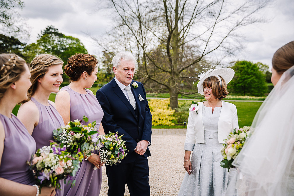 Emotional Father of the Bride - Swynford Manor Wedding Photographer