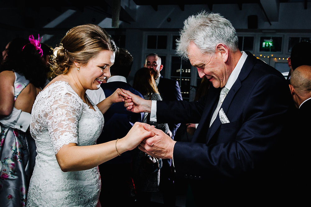 Bride and Father of the Bride - Swynford Manor Wedding