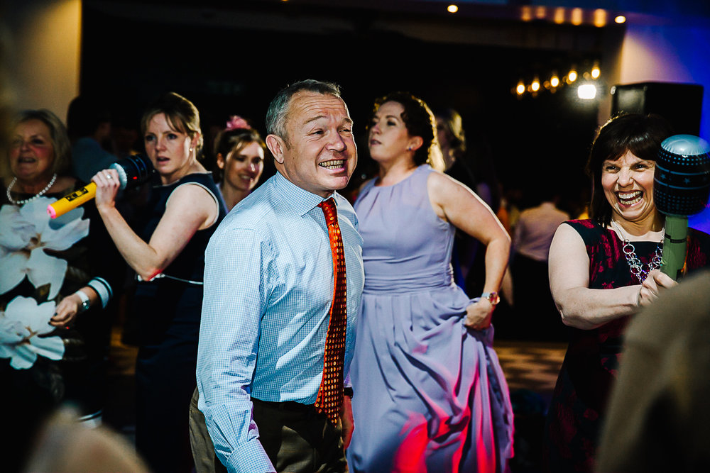 Guests Dancing at Swynford Manor Wedding Cambridge