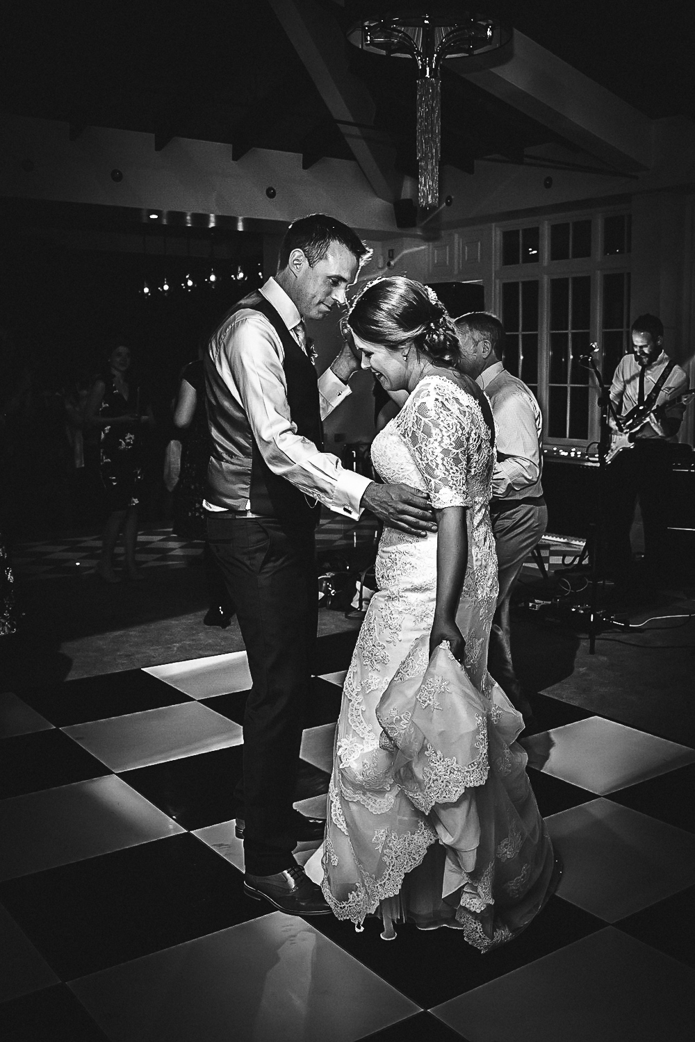 Evening Dancefloor at Swynford Manor Wedding Cambridgeshire