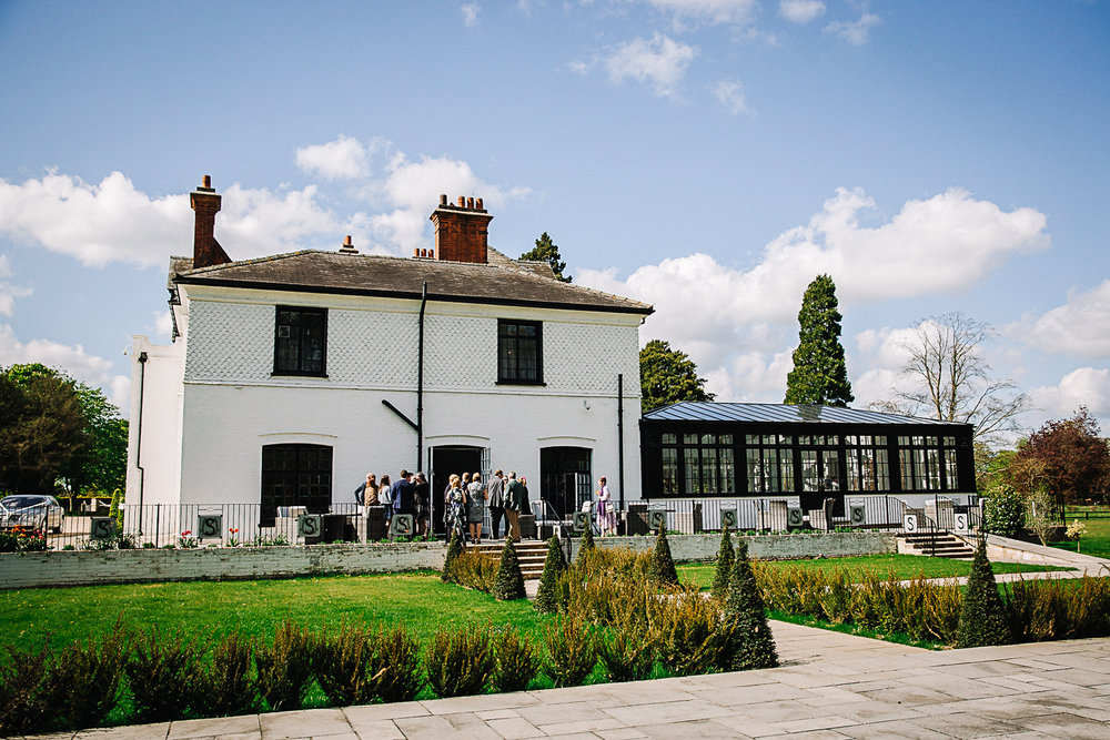 Drinks Reception - Swynford Manor Wedding Photographer