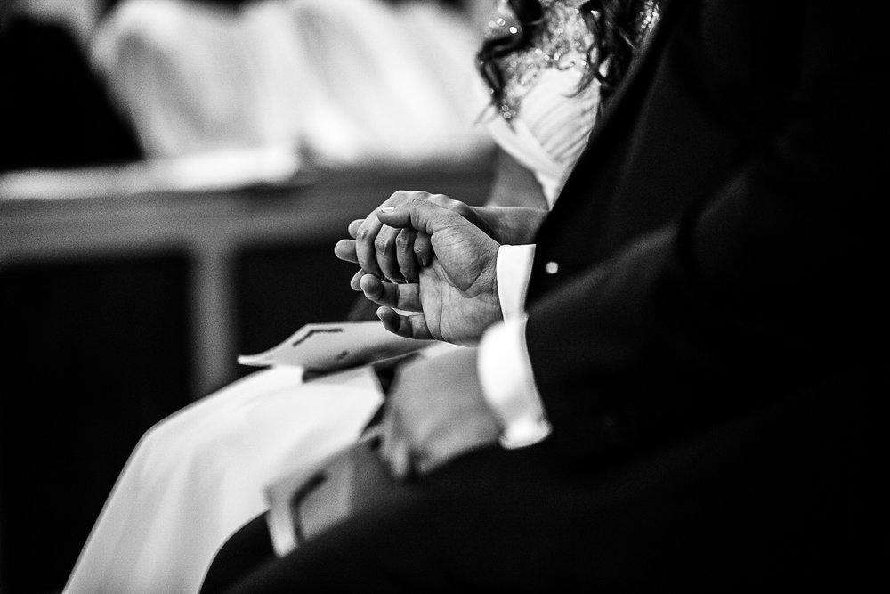 Tudor Barn Belstead Suffolk Wedding Photographer - Church Ceremony