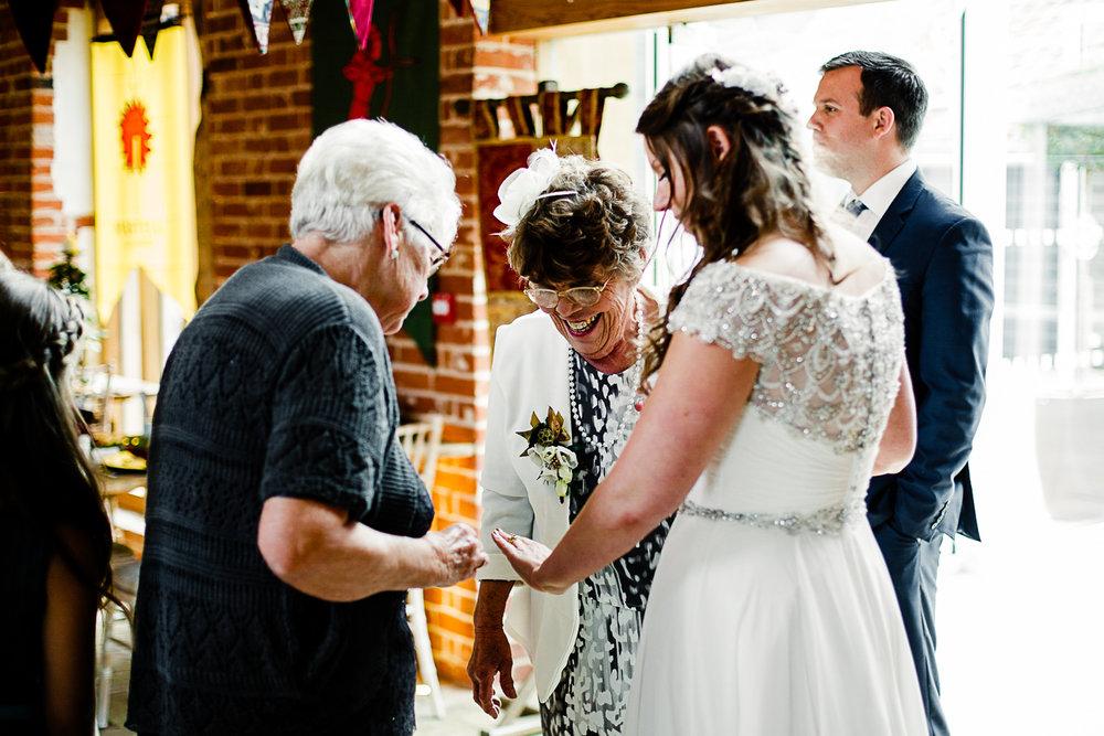 Tudor Barn Belstead Wedding Photographer - Barn Reception Venue