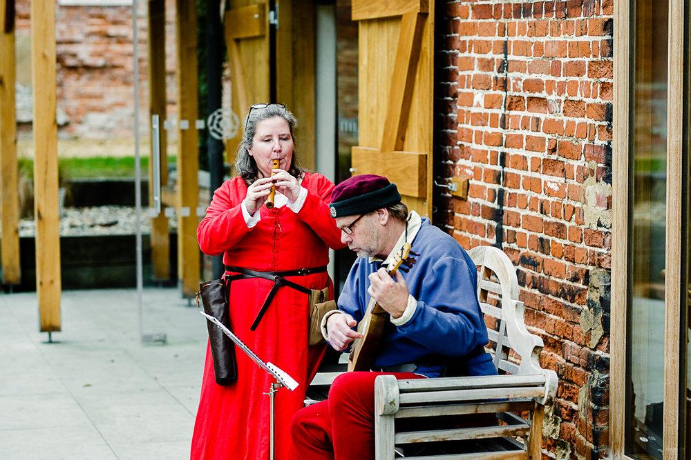 Tudor Barn Belstead Wedding - Minstrels Entertainers
