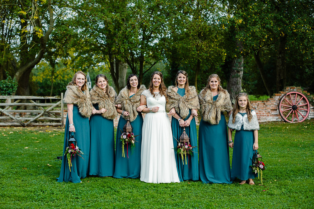 Tudor Barn Belstead Wedding Bridal Party - Game of Thrones Themed Wedding