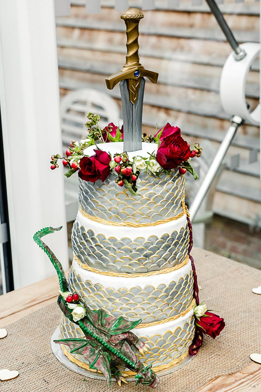 Tudor Barn Belstead Wedding Barn Venue - Wedding Cake