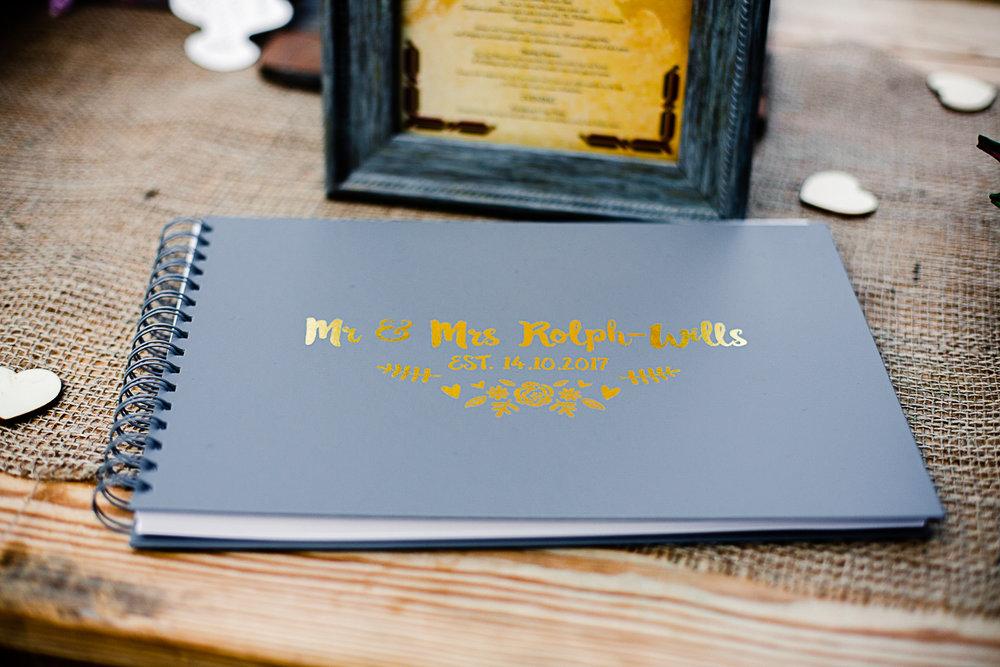 Tudor Barn Belstead Wedding Barn Venue - Guest Book