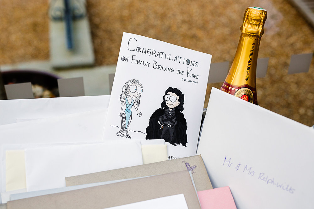 Tudor Barn Belstead Wedding Barn Venue - Cards from Guests
