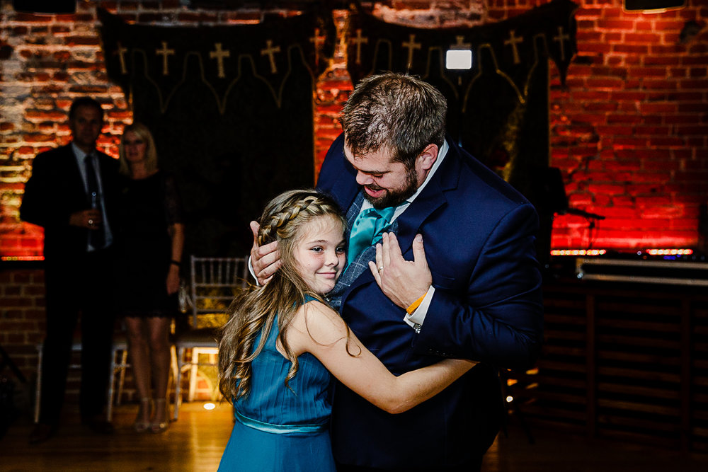 Tudor Barn Belstead Wedding Photographer - Father Daughter Dance - Game of Thrones Theme