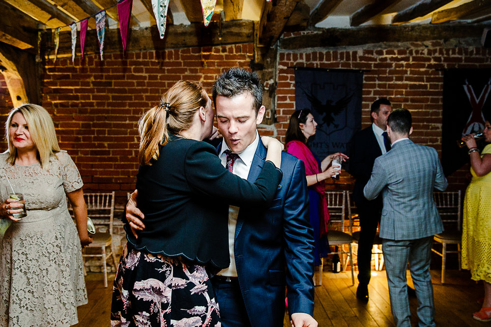 Tudor Barn Belstead Wedding Photographer - Evening Reception - Game of Thrones Theme