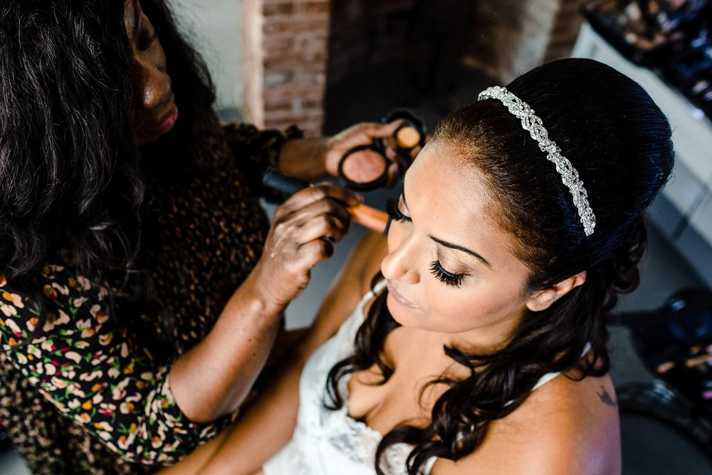 Parklands Quendon Hall Wedding Photographer - Bridal prep