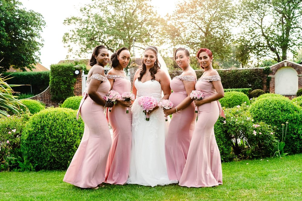 Parklands Quendon Hall Wedding Photographer Bridal Party