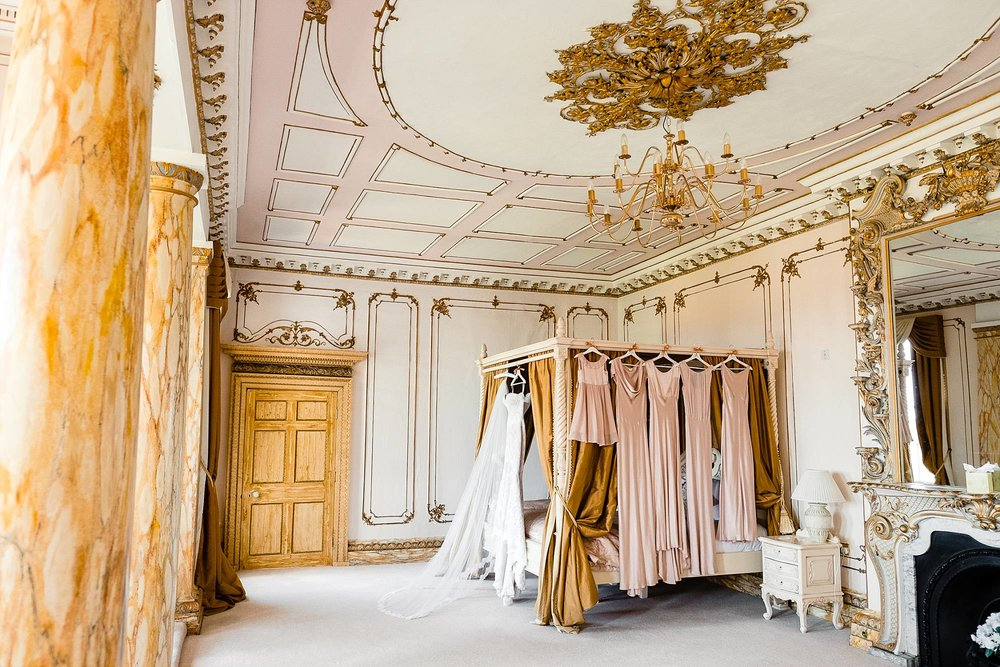 Bridal Suite at Gosfield Hall Wedding