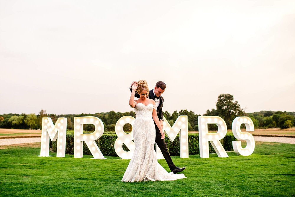 Gosfield Hall Wedding Photographer - First Dance