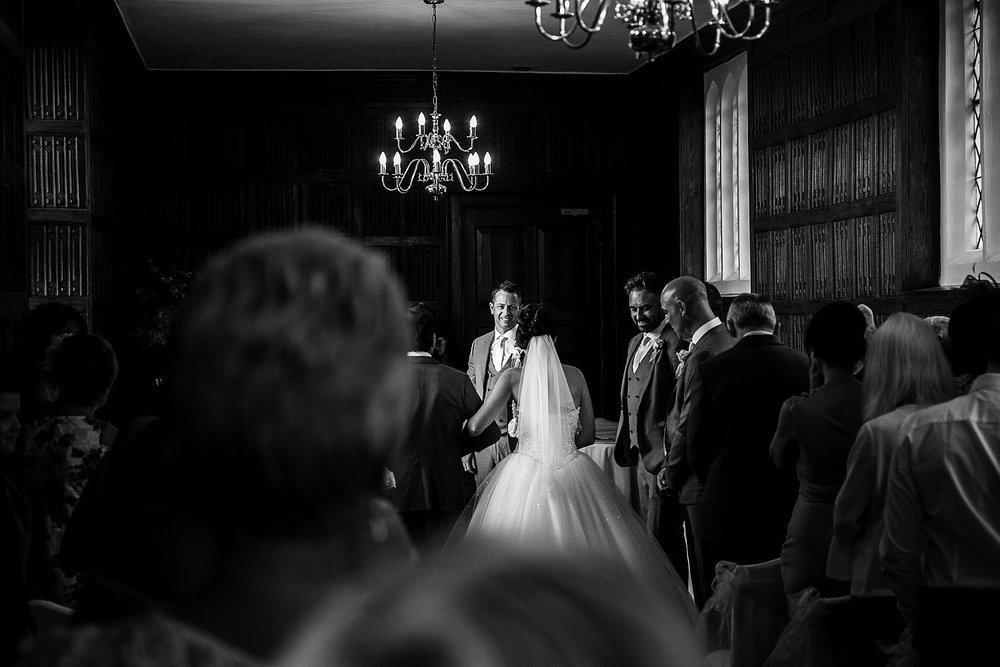 Gosfield Hall Wedding Photographer - Ceremony