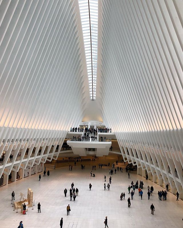 Still pretty on a grim day #remember911 #occulus #calatrava #worldtradecenter #nyc