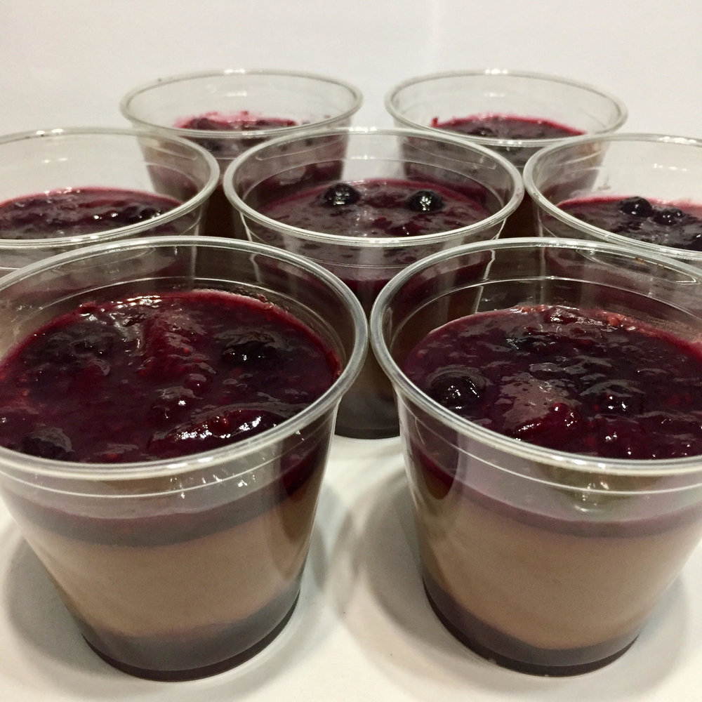 Berry Chocolate Mousse