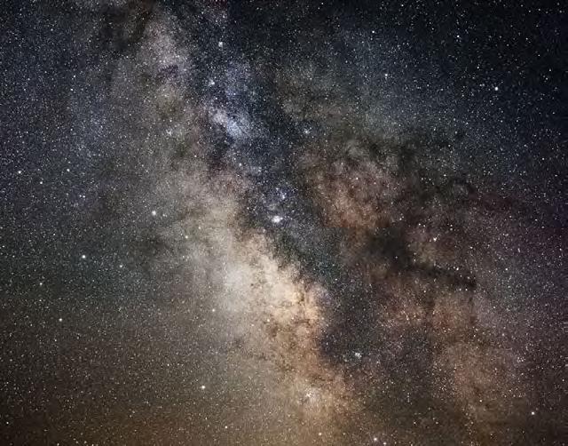 Sagittarius/Scorpio Milky Way