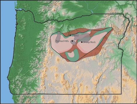 John Day Strata,  National Park Service