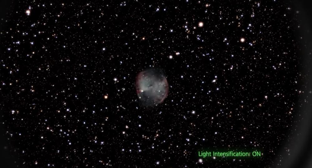Image through  Unistellar eVscope  (as represented on Unistellar's website).