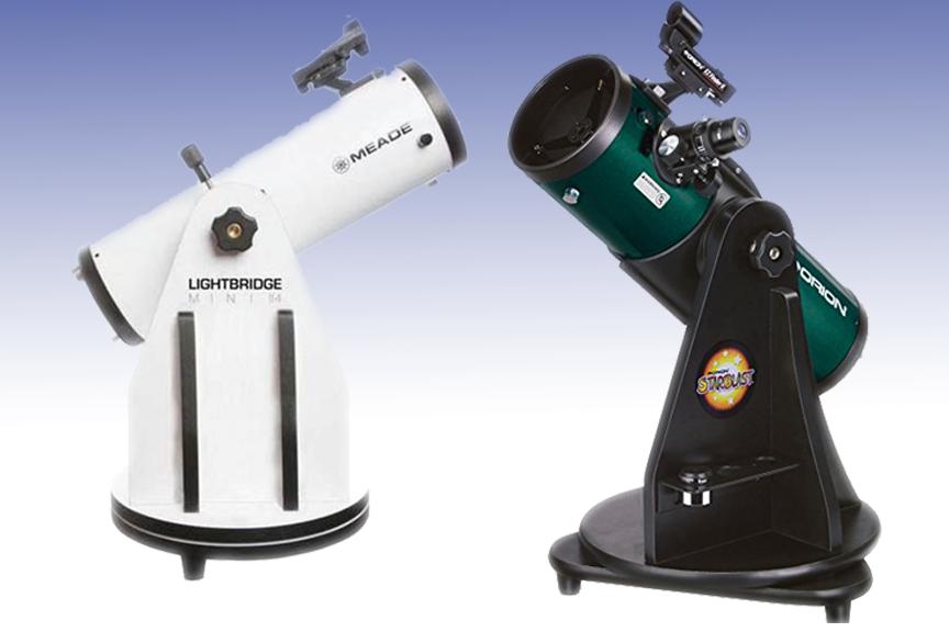 Meade Lightbridge Mini and Orion Starblast