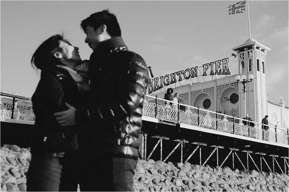 Selina + Michael - Brighton engagement shoot-9.jpg