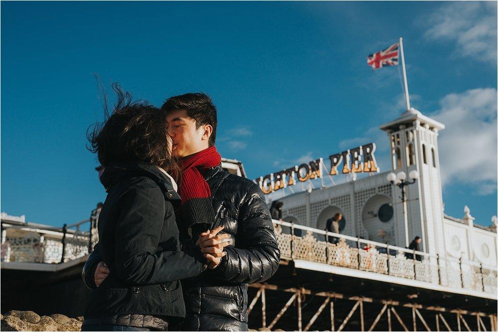 Selina + Michael - Brighton engagement shoot-10.jpg