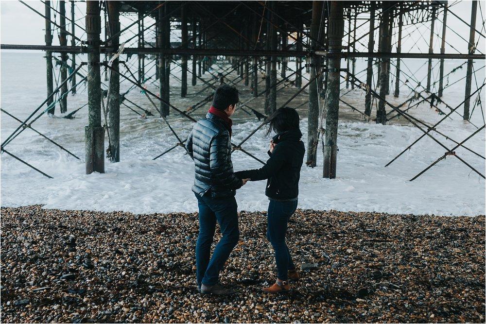 Selina + Michael - Brighton engagement shoot-13.jpg