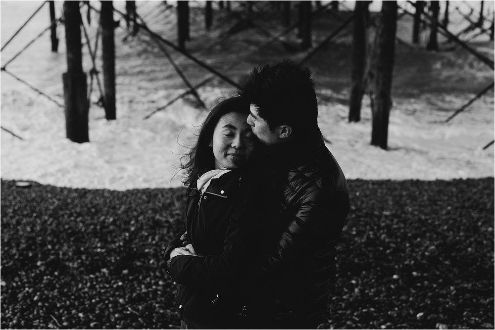 Selina + Michael - Brighton engagement shoot-15.jpg