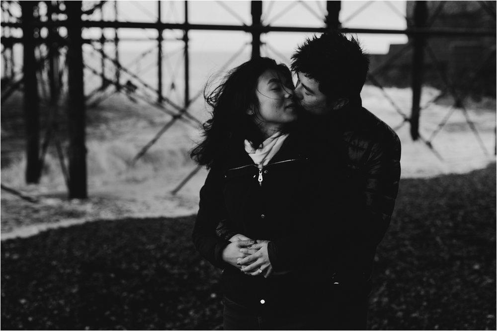 Selina + Michael - Brighton engagement shoot-18.jpg