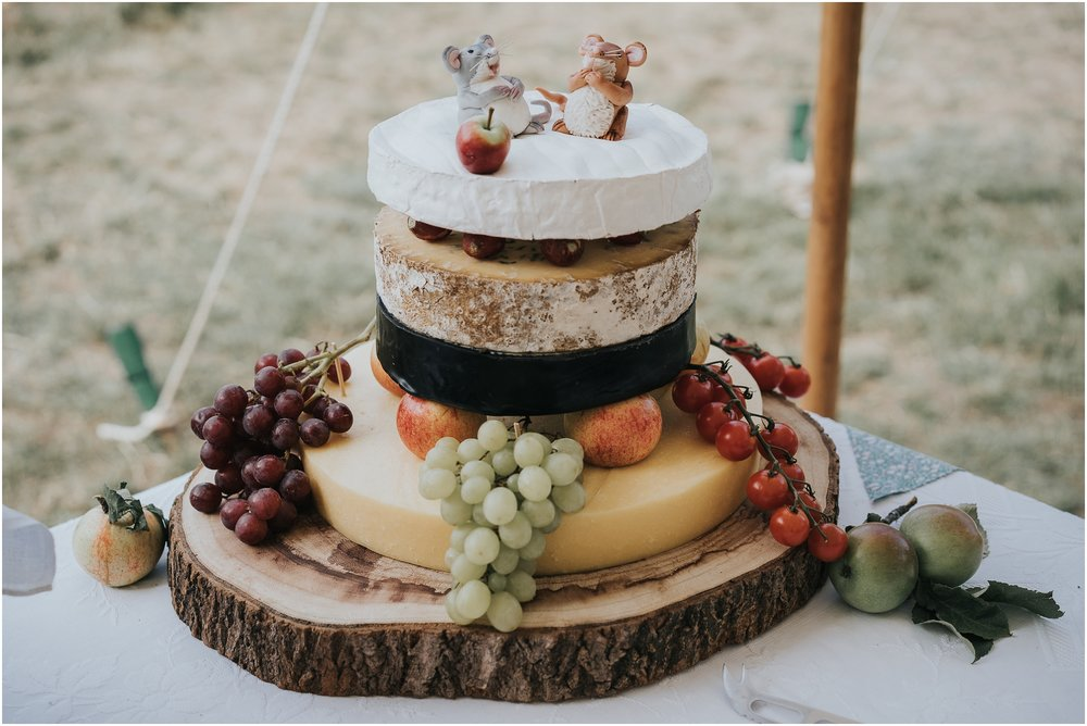 cheese wheel cake
