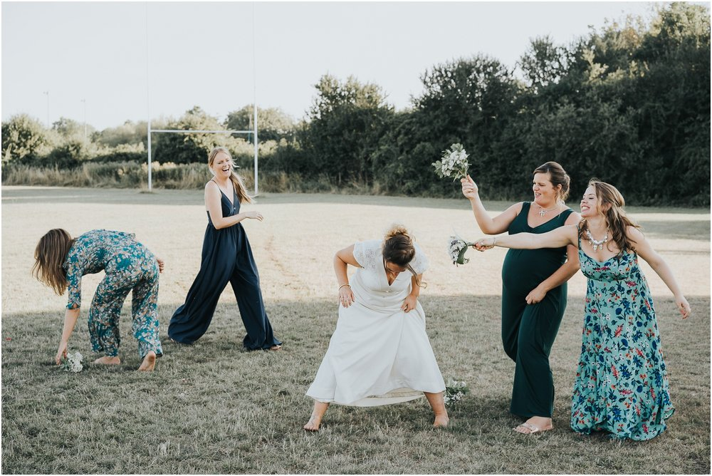 bridesmaids go wild