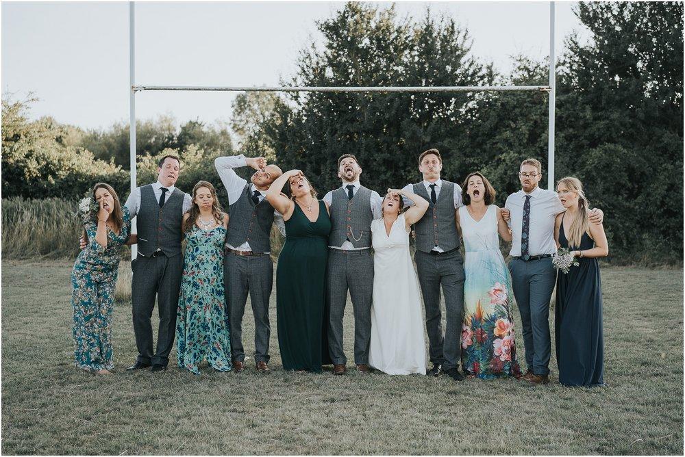 rugby pitch wedding
