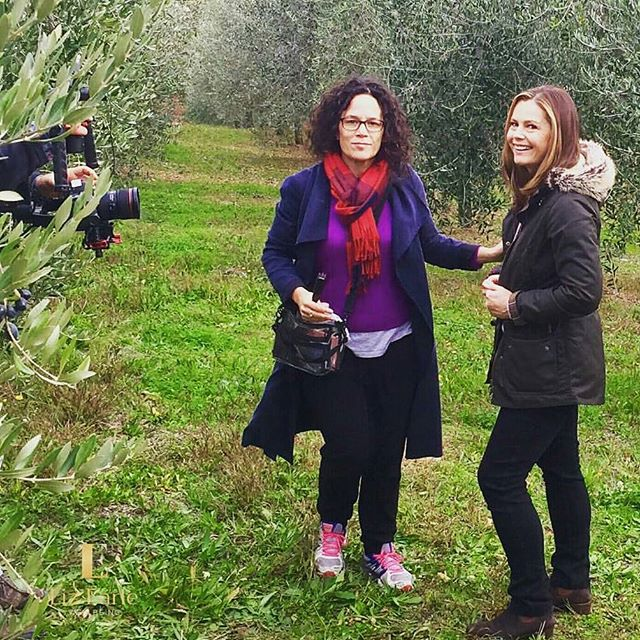 #workaction #olivegroves #italy @lizearlewellbeing  Desperately need a haircut