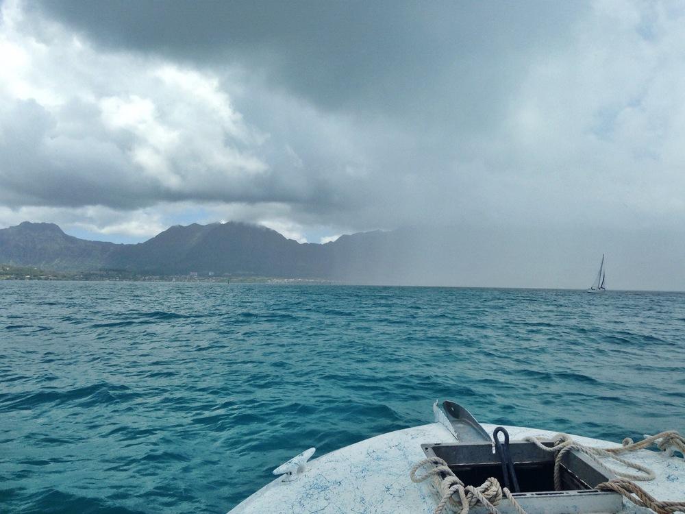 rain and salt