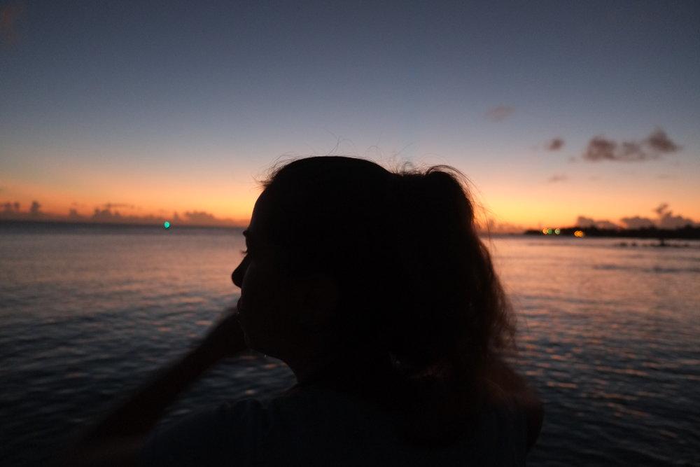Kelly on Tinian