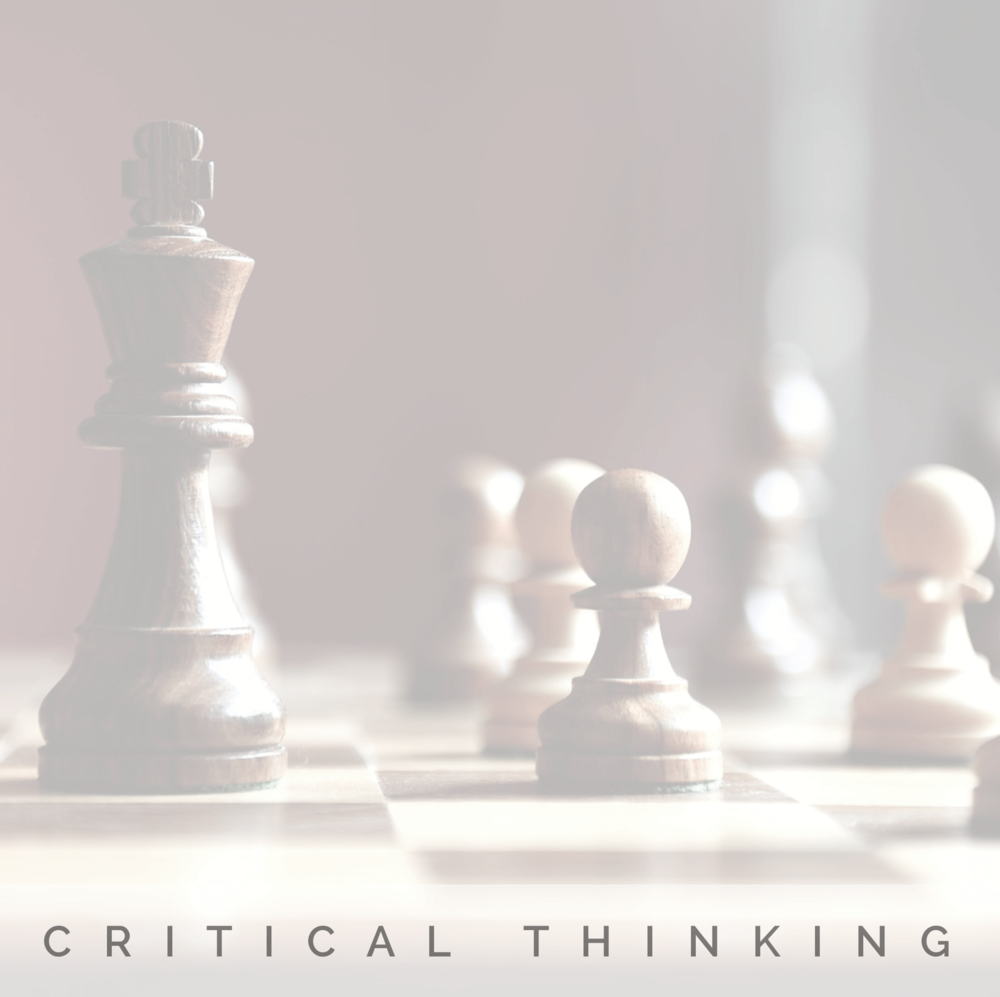 Critical Thinking | Strength | Signature Wisdom