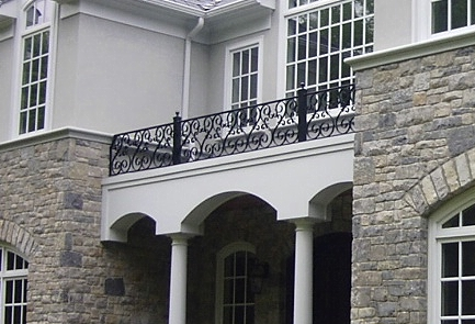 Deck U0026 Poolside Iron Railings. Balcony Railings