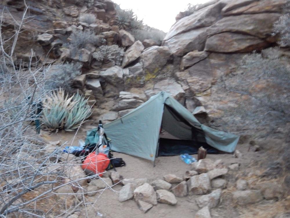 Favorite campsite yet.