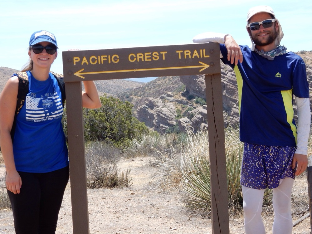Who would have thought we would be on the PCT?!