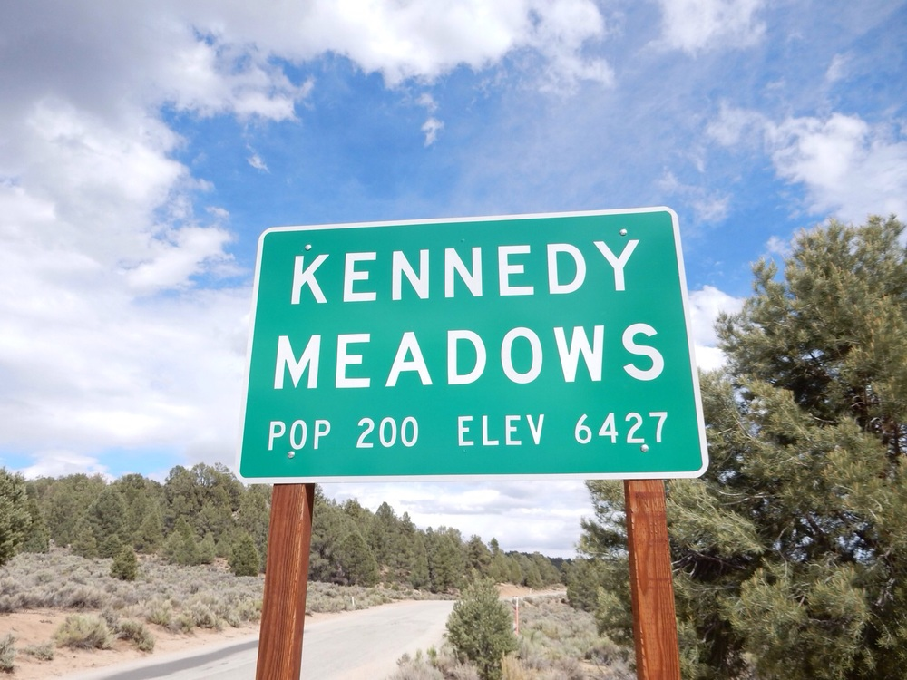 I'd made it to Kennedy Meadows, with half an hour to spare.